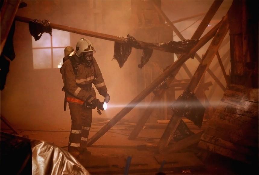 Пожар внаркологическом центре Баку